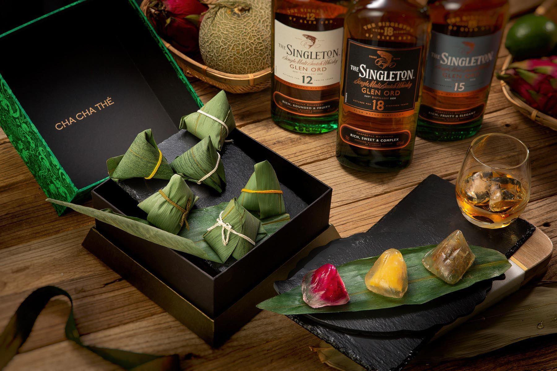當威士忌遇上冰粽:The Singleton 蘇格登 X 采采食茶伴你冰涼過端午