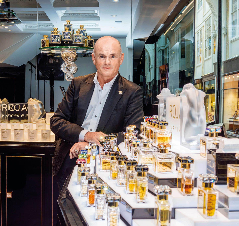 國際奢華香氛品牌創辦人Roja Dove分享他最愛的五件事物