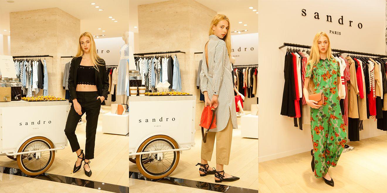 當法國遇上巴西!來自巴黎的輕奢品牌 Sandro 繽紛色調伴妳亮麗一夏