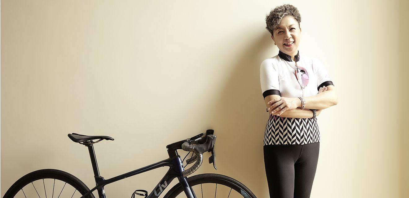 自行車、旅遊與美食!巨大集團董事長杜綉珍高唱勝利的騎蹟