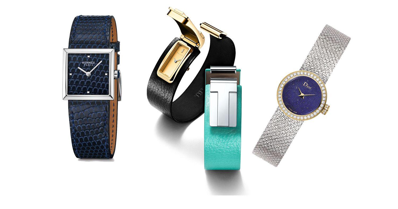 (由左至右)Hermes、Tiffany、Dior。