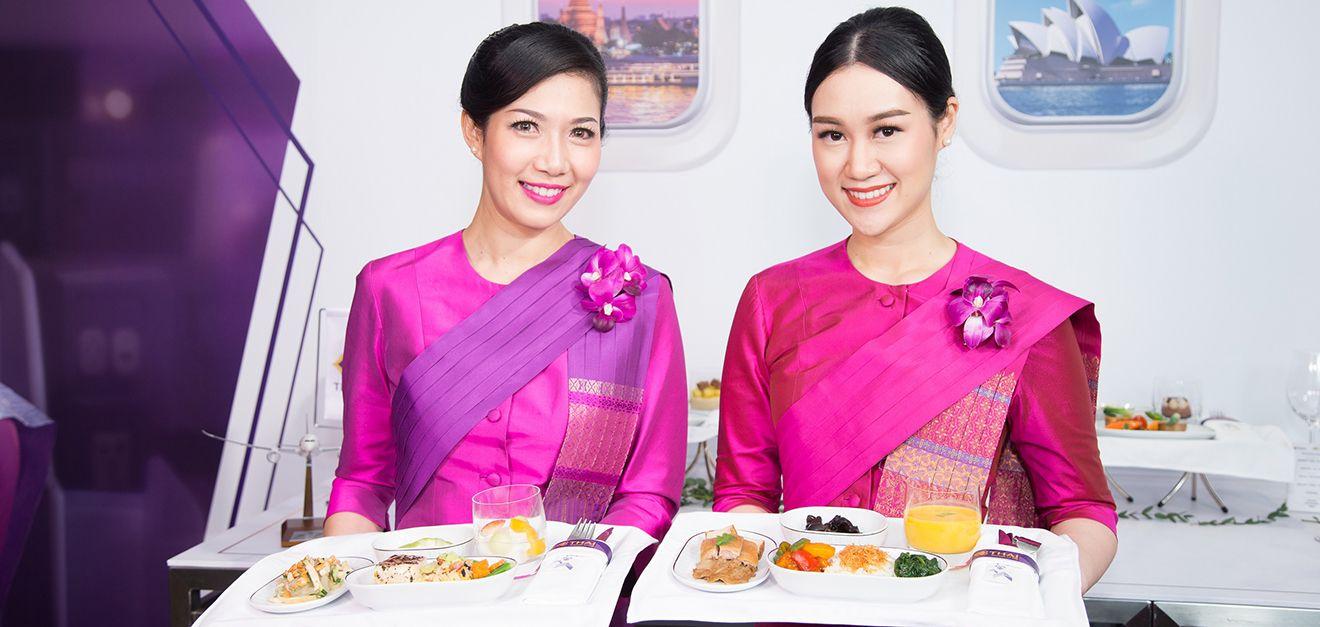 台北文華東方酒店 X 泰國航空!米其林星級飛機餐點直送空中