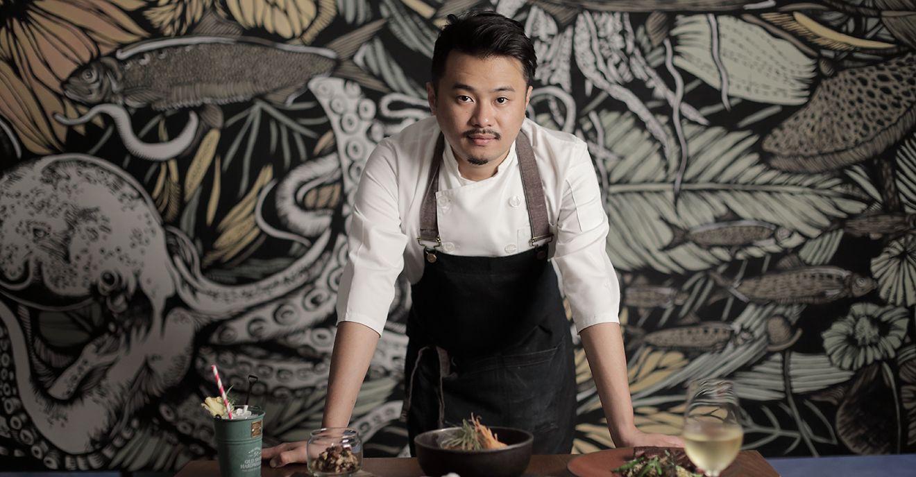 S.Pellegrino Young Chef 的東北亞區域賽冠軍加持!VG The Seafood Bar Taipei 主廚陳子洋年輕有為