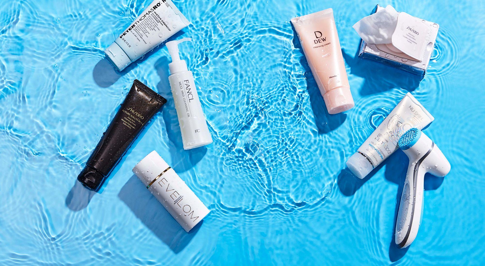 洗完臉,感到前所未有的柔嫩水潤!7款「保養型水感洗卸」單品推薦