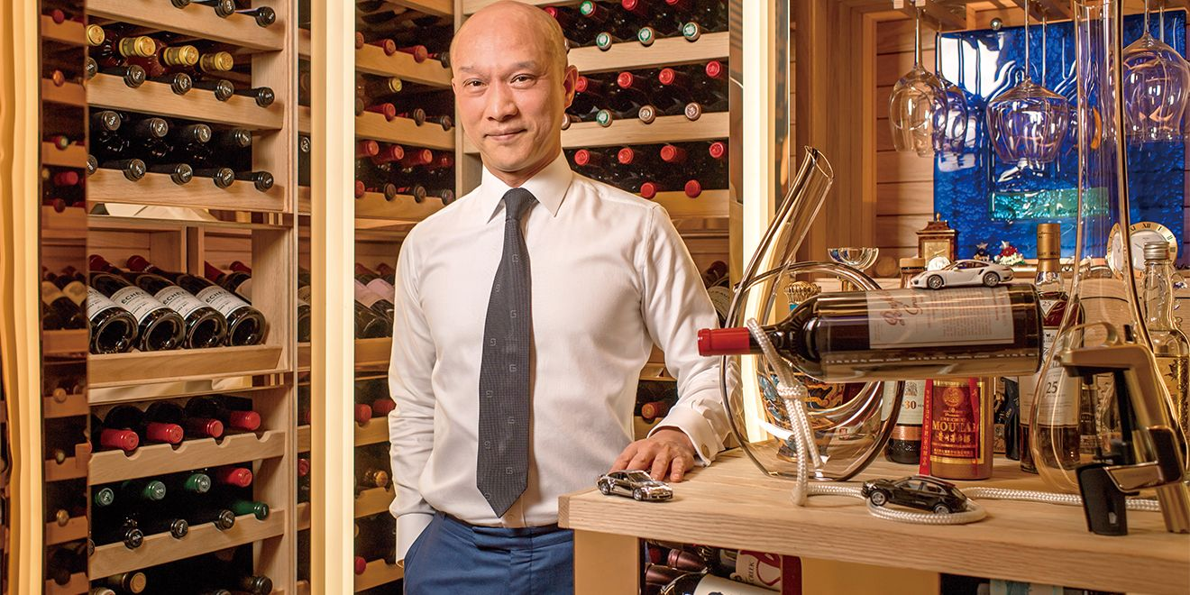 締一國際實業有限公司董事長許錫彬:「喝酒就是花錢找開心,這是我的結論。」