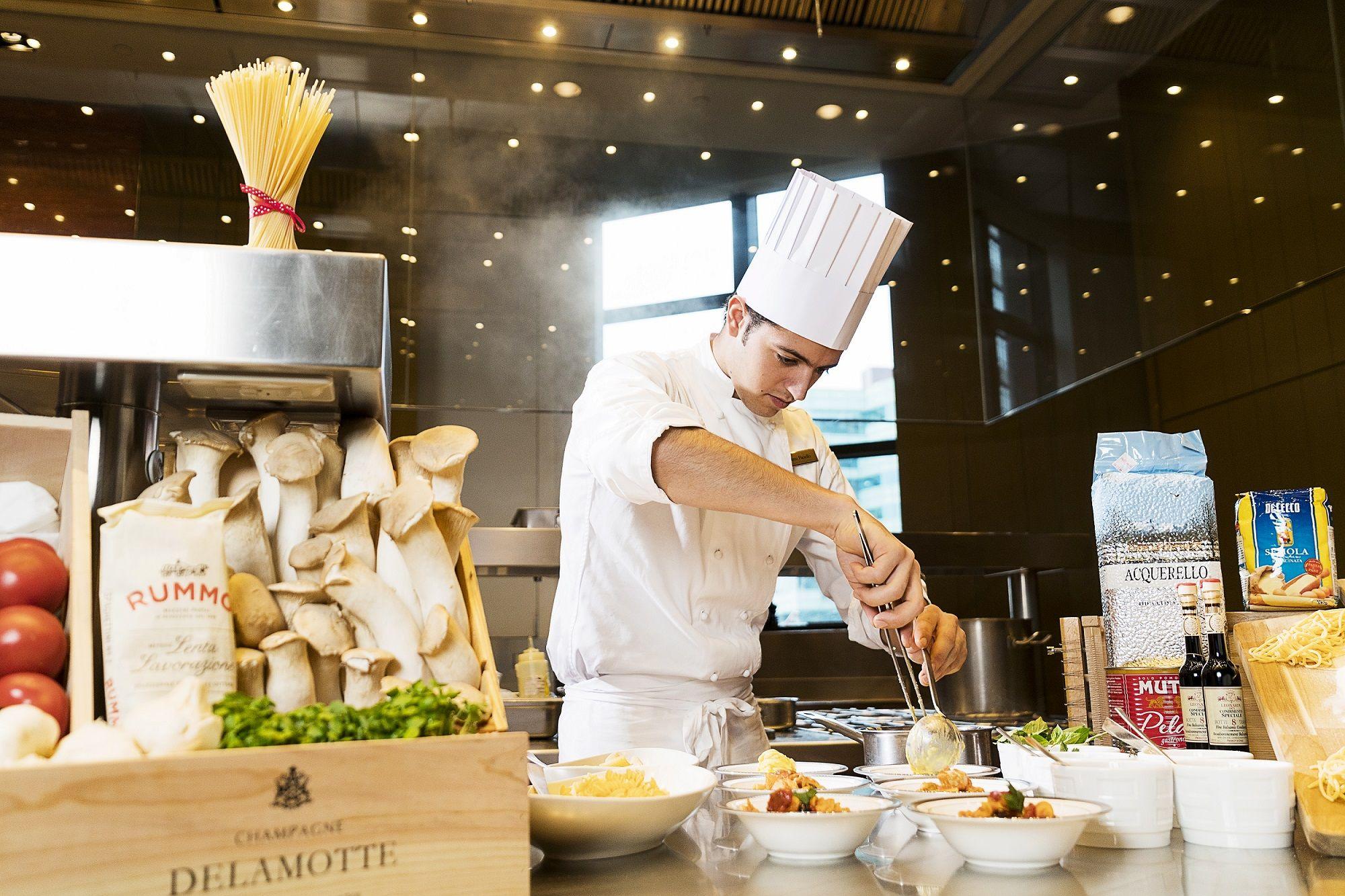 文華東方酒店義式餐廳Bencotto推出週末早午餐