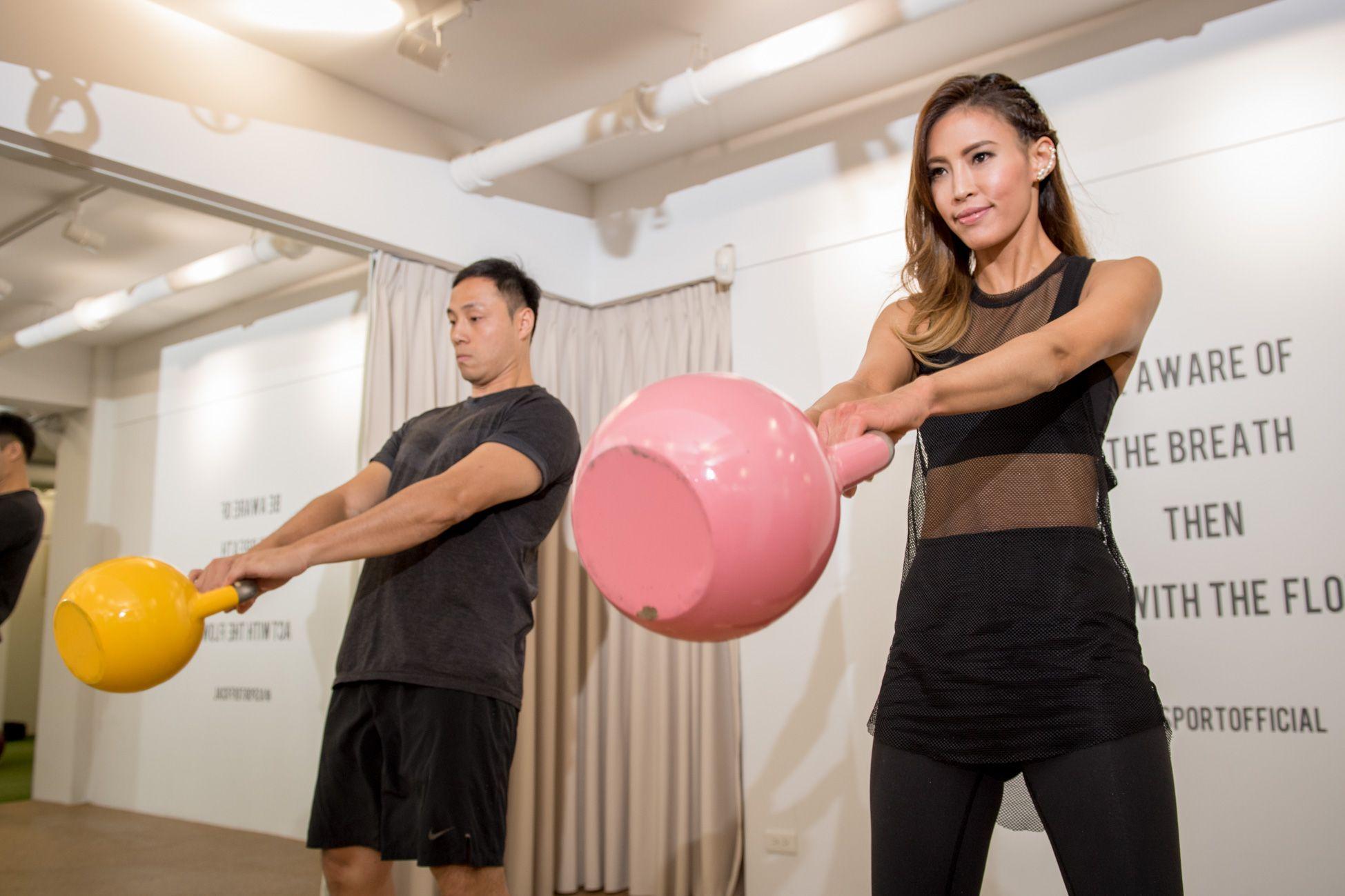 時尚名人孫幼恩的健身心法:「透過規律的運動,讓我覺得能控制自己的身體狀態是一種成就感與驕傲,」