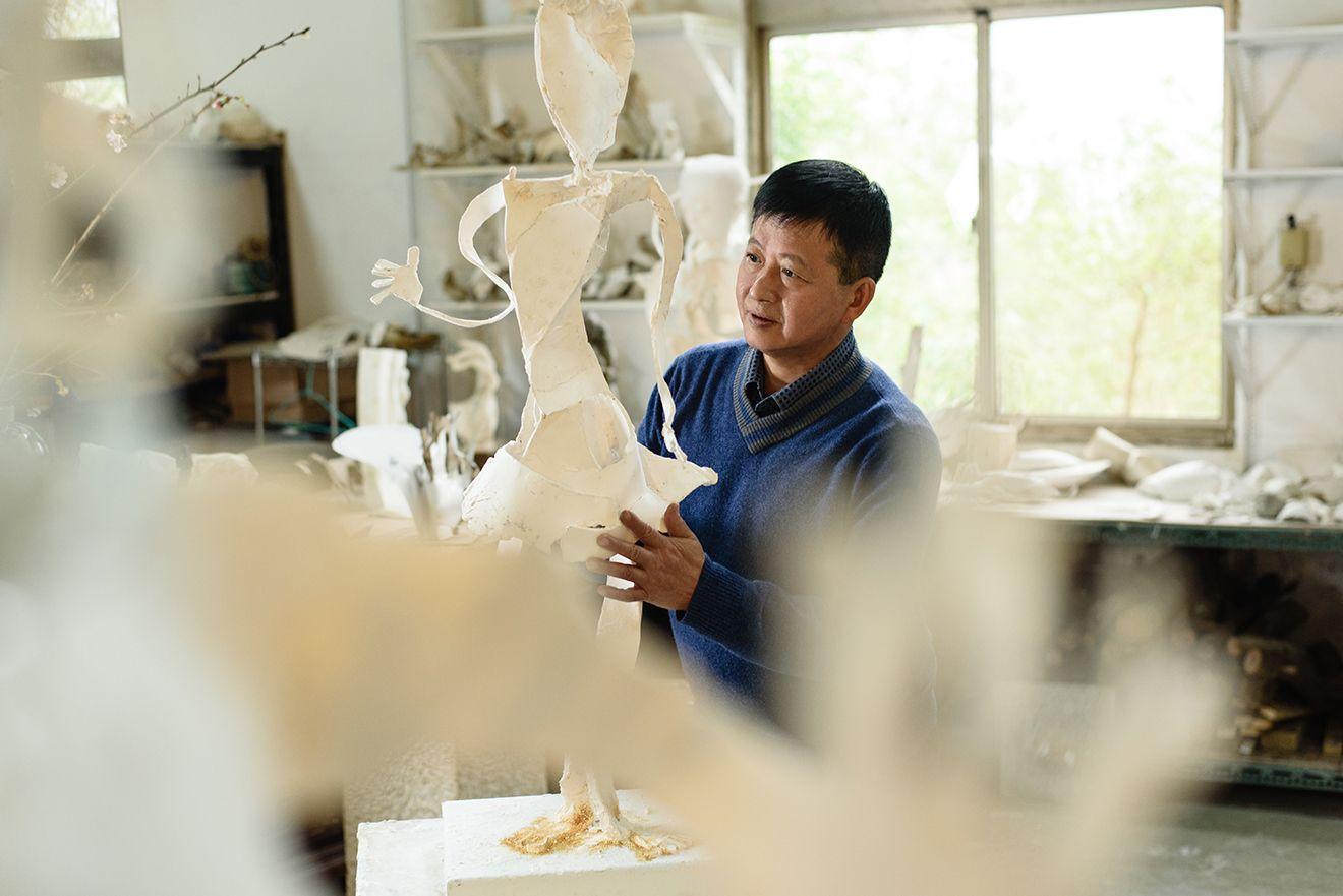 前進威尼斯(二):雕塑家李光裕
