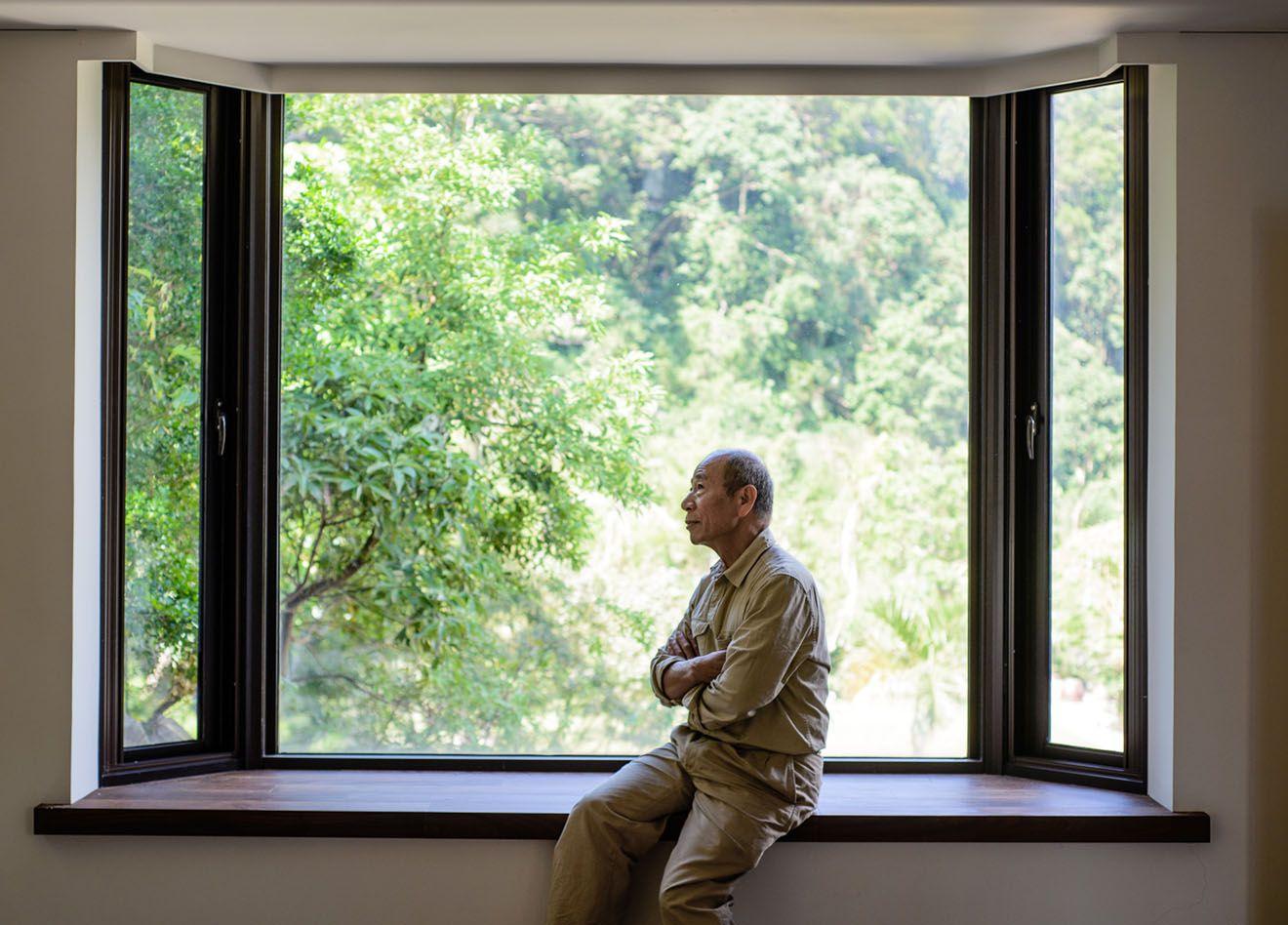 旅法藝術家吳炫三的專訪紀實