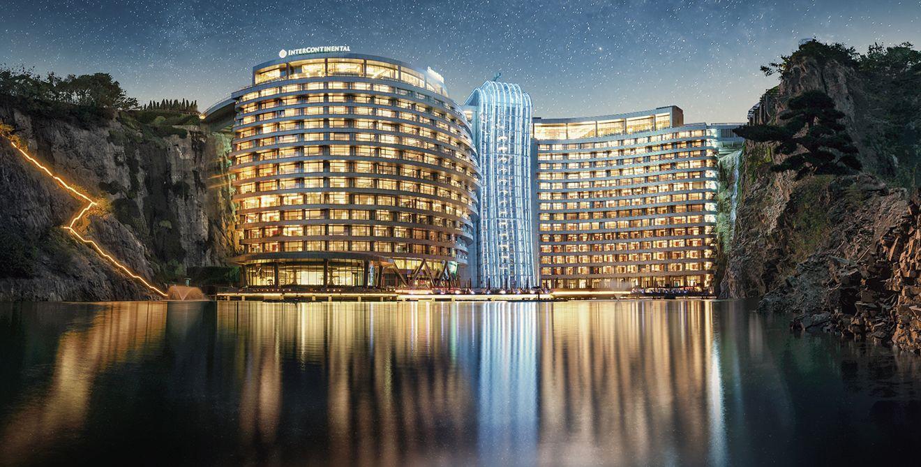 克服 64項工程技術難題!耗費12年與6億人民幣打造!上海佘山世茂洲際酒店巧奪天工令人讚嘆