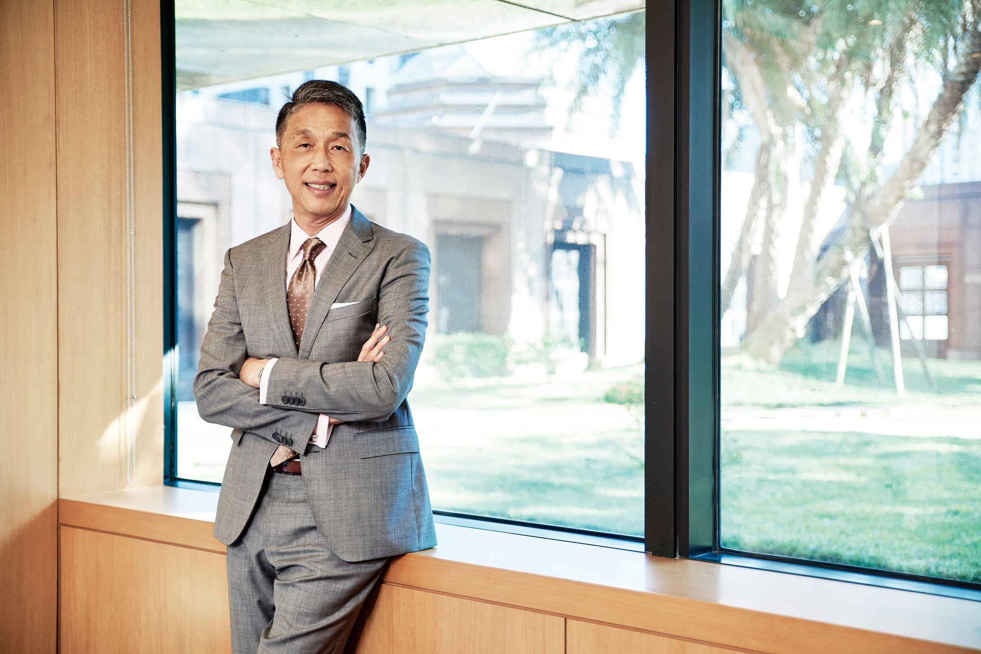 首屆台北當代藝術博覽會即將登場,瑞銀集團台灣區總經理陳允懋:「台灣(藝術)要走出去其實有很多方式,這就是其中一種。」