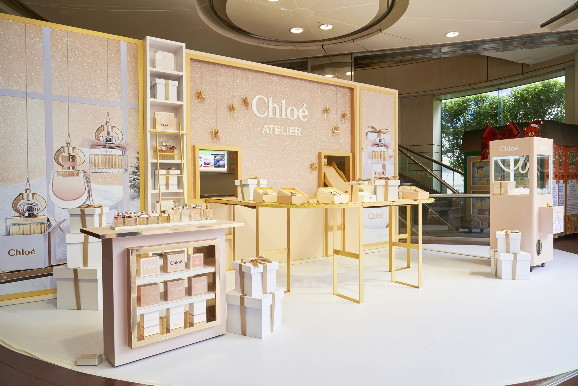 走進Chloé幸福香氛工坊,彷彿置身法國的唯美殿堂!