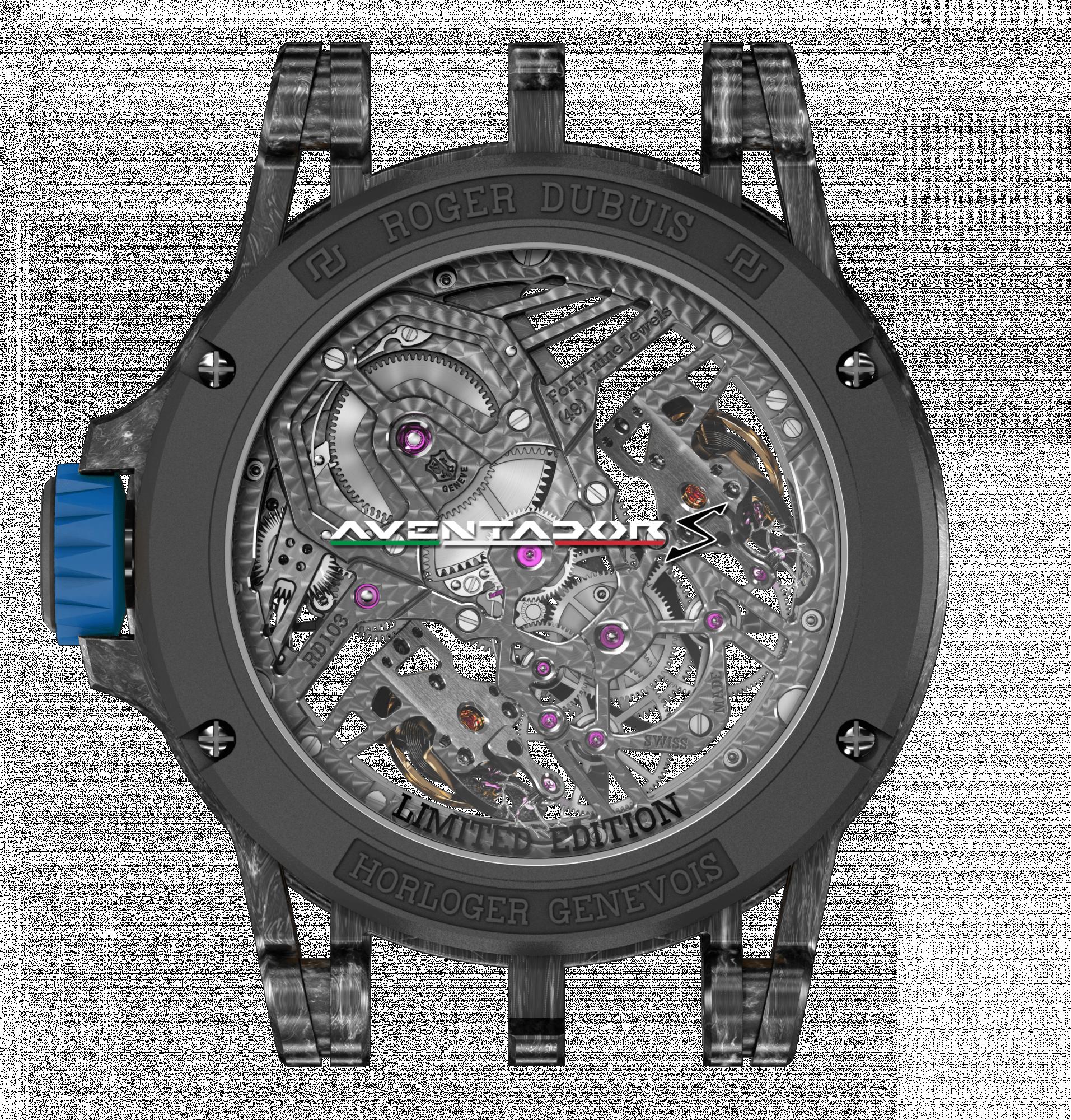 ROGER DUBUIS 「Excalibur 王者系列」全新限量錶款 精準掌控速度 追回人生重要時刻