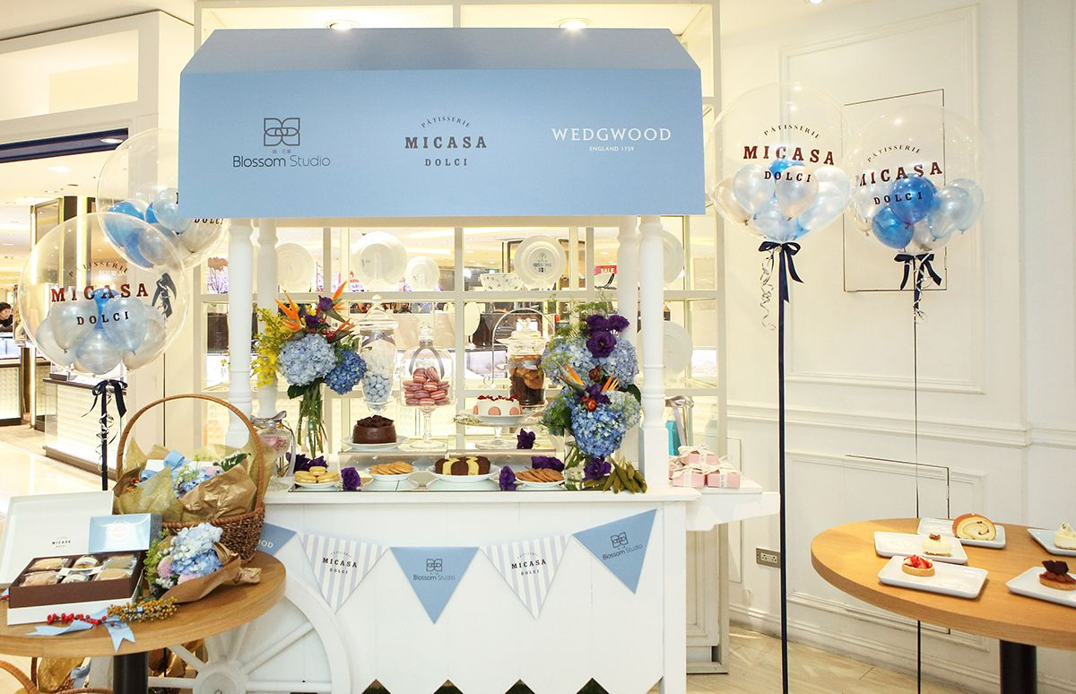 Blossom Studio X  Micasa Dolci X Wedgwood 歡慶新年聯名款發表會