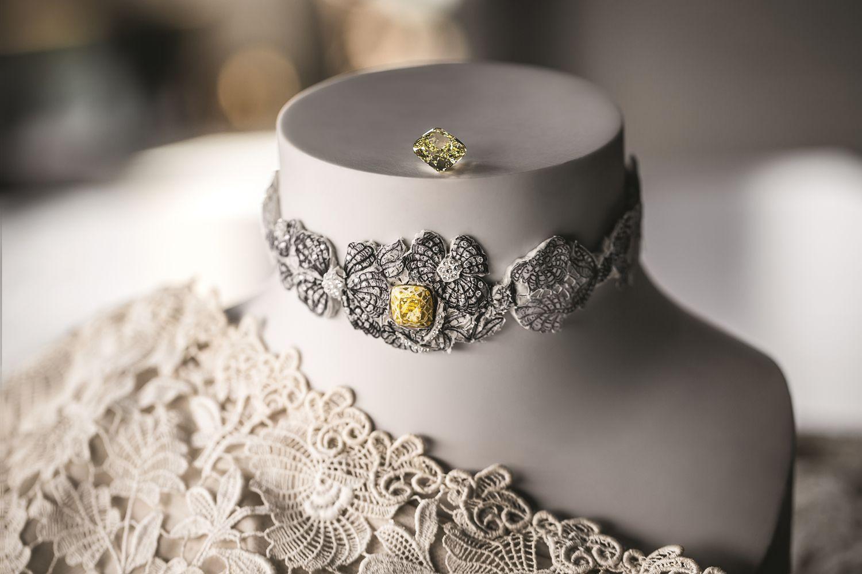 寶石衣匠的華麗詩篇,Dior Joaillerie與Hearts On Fire將蕾絲化為永恆