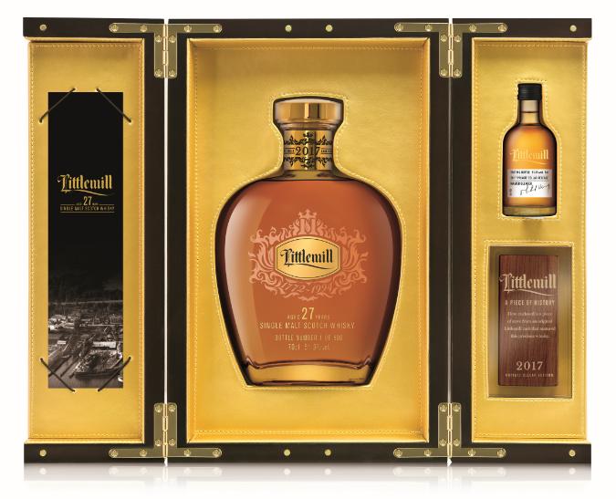 誠摯珍貴的新春獻禮 蘇格蘭最古老酒廠Littlemill限量典藏