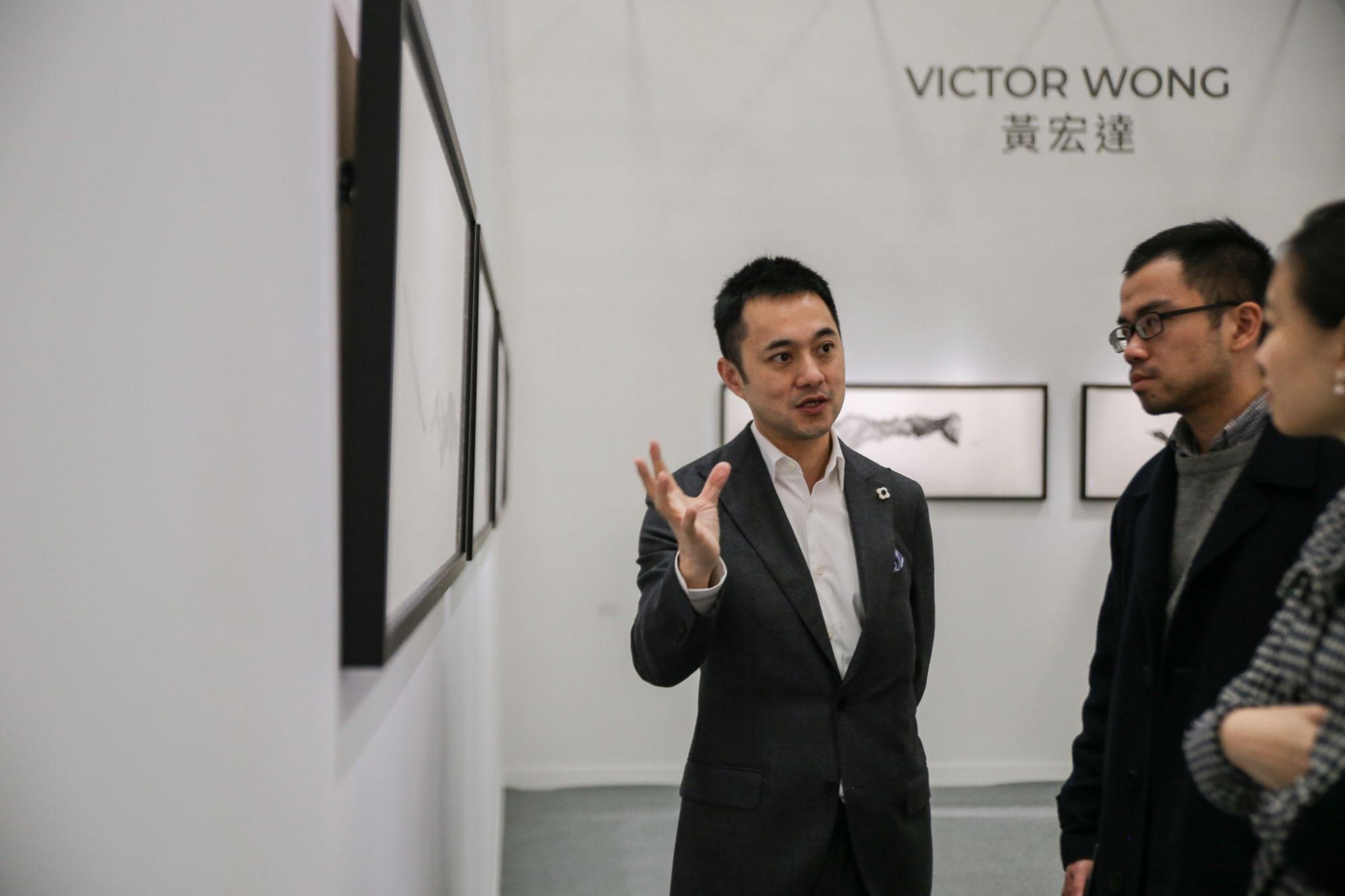 水墨現場主席許劍龍以三年計畫開拓水墨未來新境界!