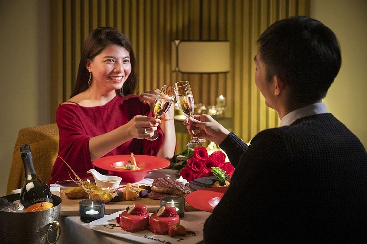 Only for couples!精選西洋情人節餐飲方案