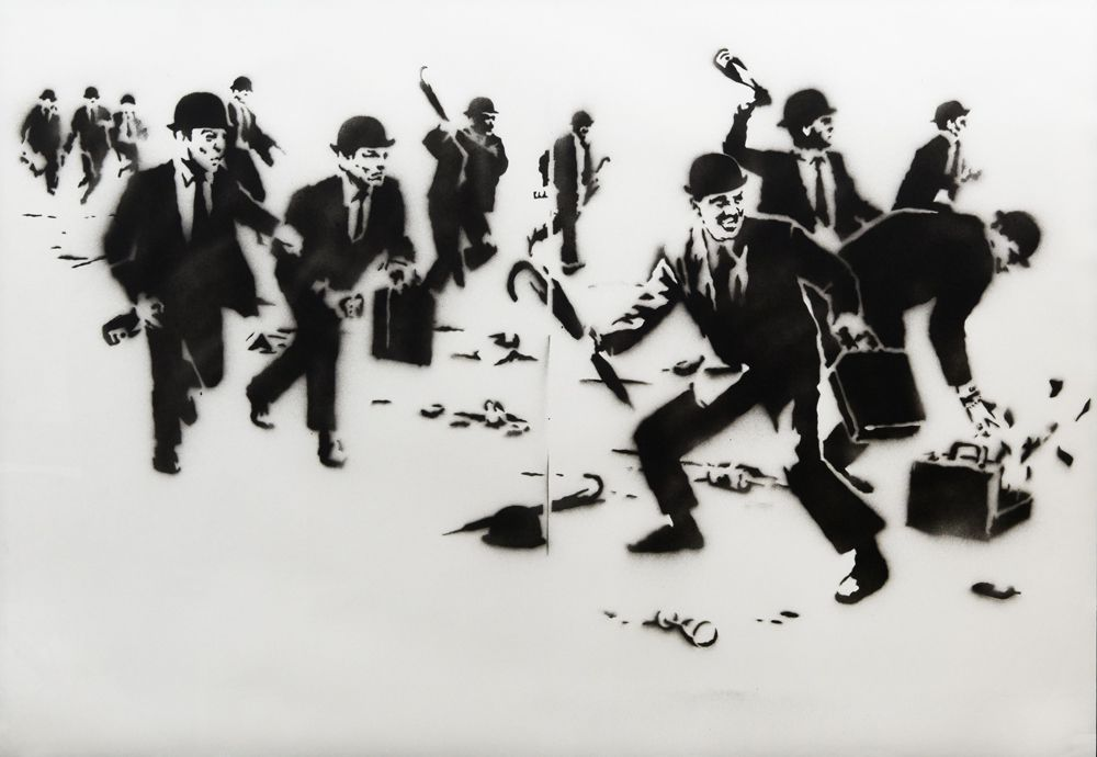 叛逆有理,街頭藝術家班克斯Banksy台灣首展BELLAVITA登場