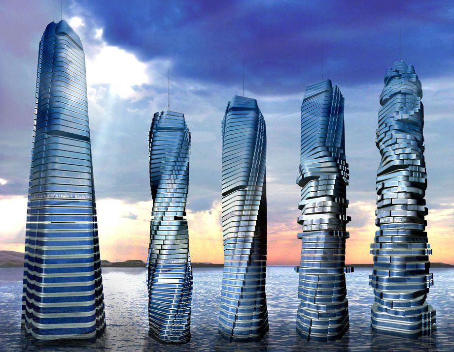 杜拜最新360度旋轉大廈,風力及太陽能驅動4大特點