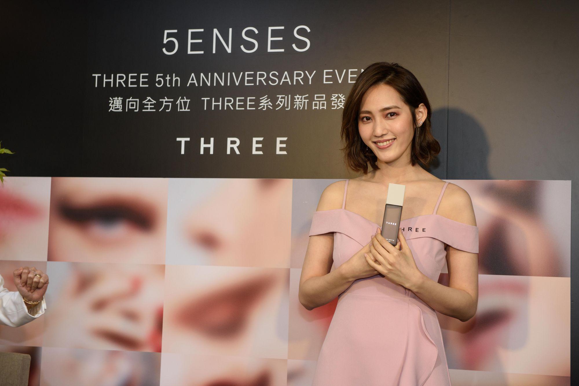 氣質名媛王棠云:「找到自我平衡最重要!」給自己與家人的保養首選日本頂級植萃品牌Three