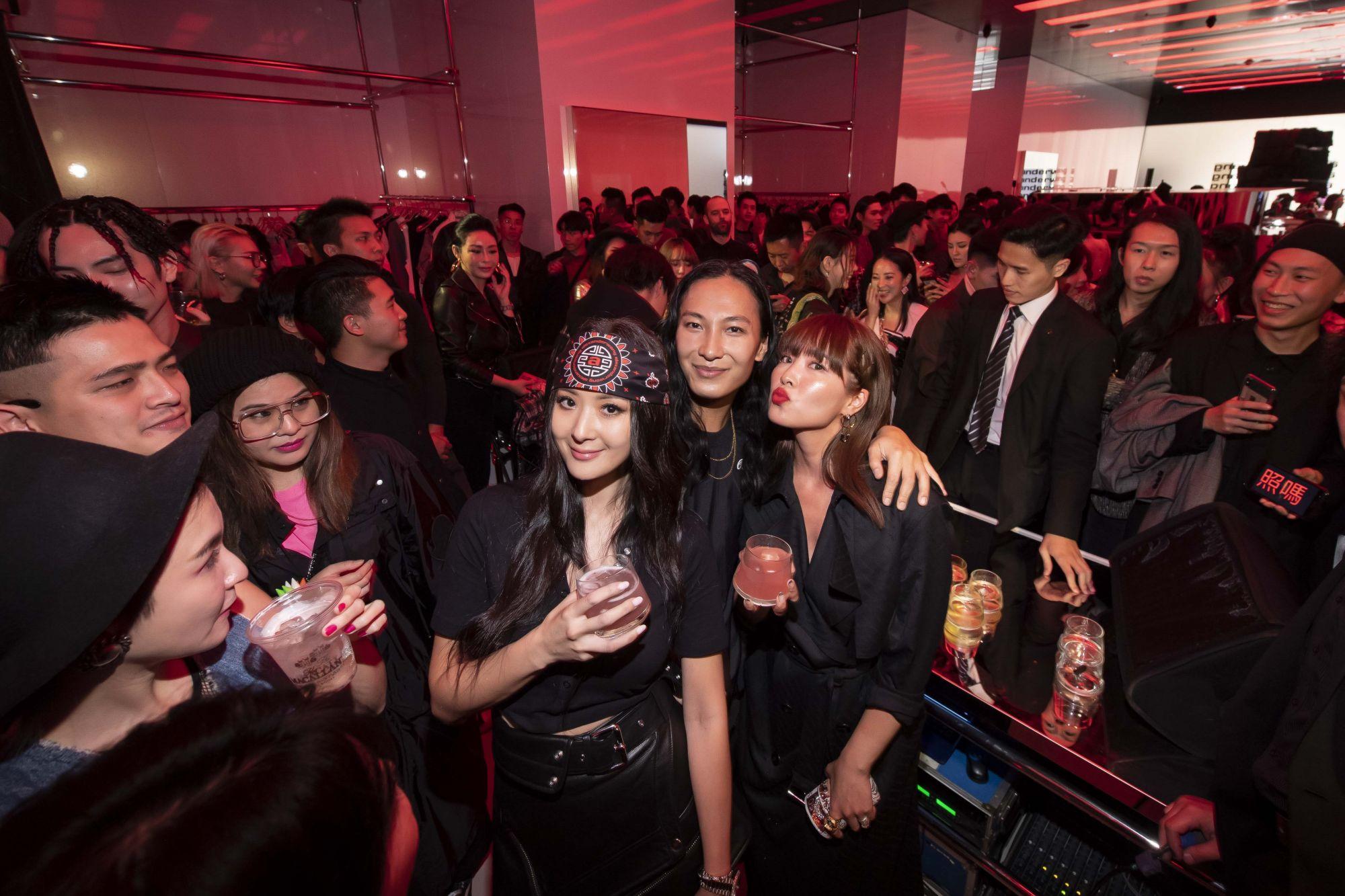 Alexander Wang 微風南山開幕派對
