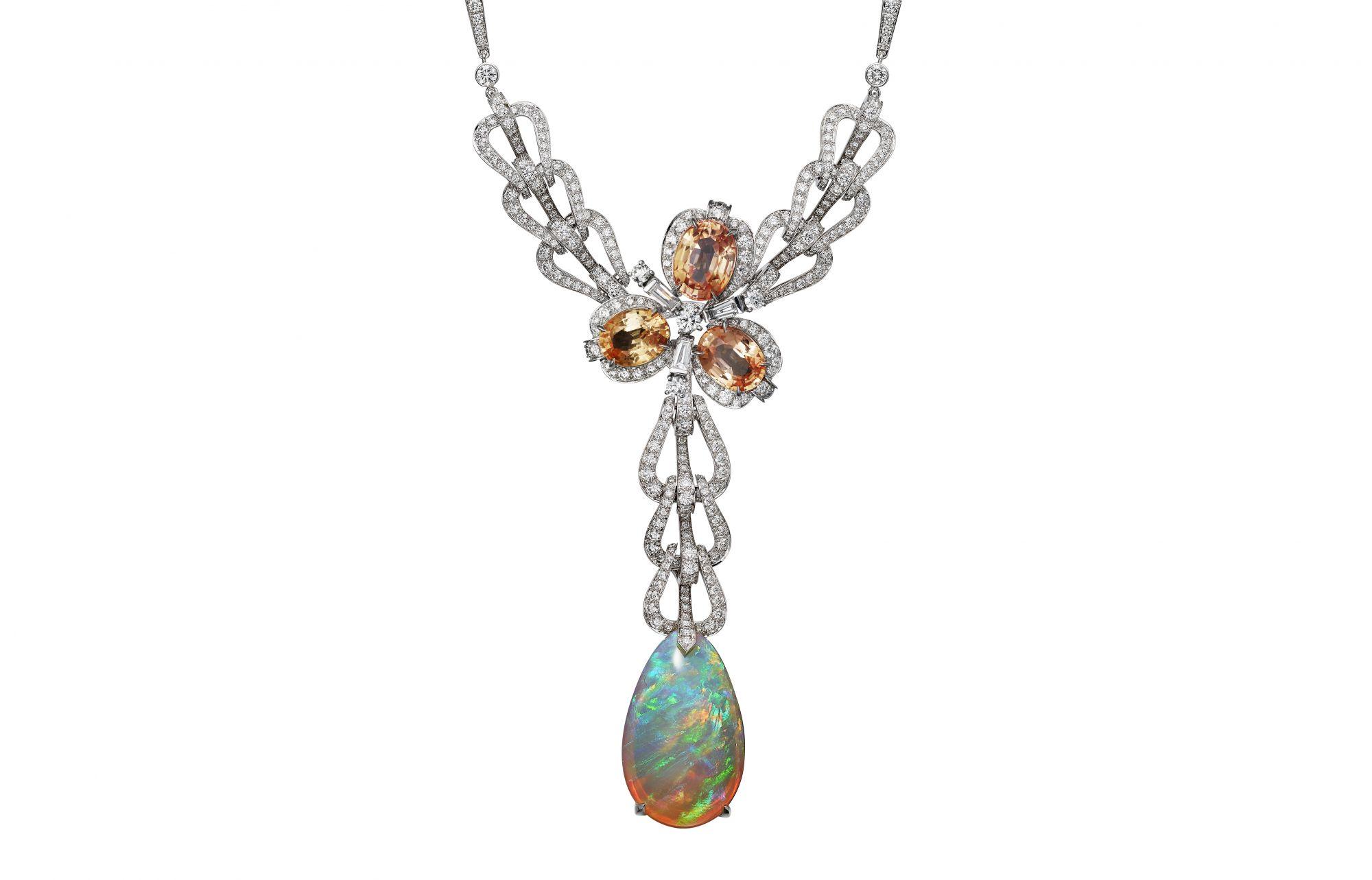 交織文化色線,Cartier用全新Coloratura頂級珠寶系列開啟歡騰樂章
