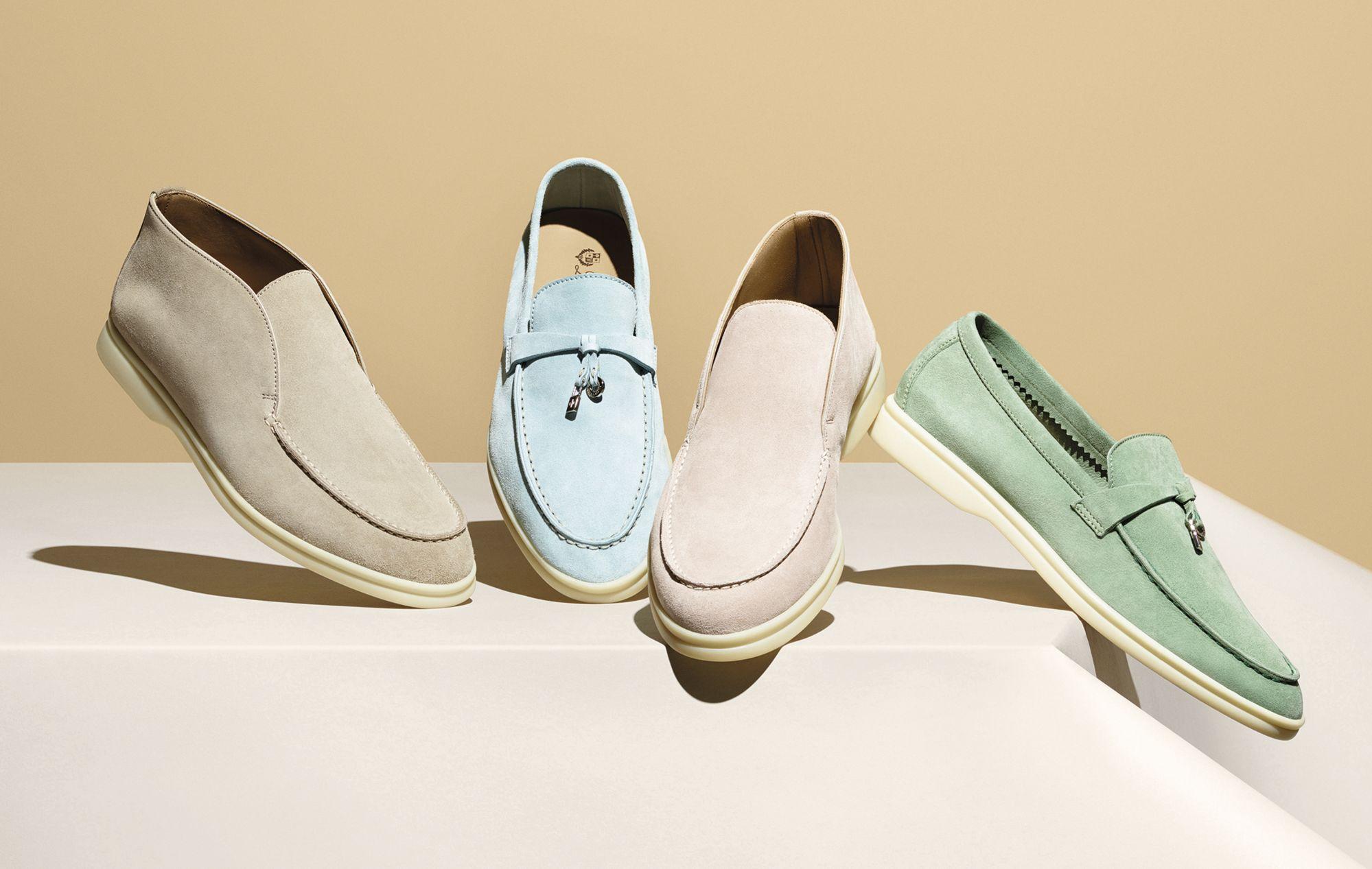 宛如漫步在雲端的舒適感!Loro Piana 經典 Open Walk 和 Summer Walk 鞋履新色上市