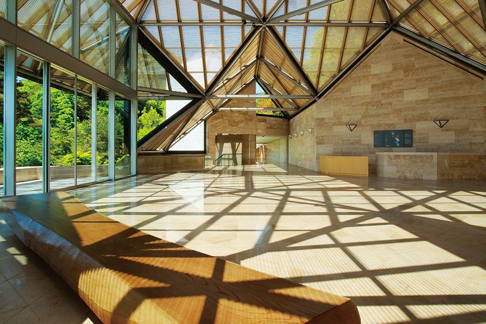 日本美秀美術館MIHO MUSEUM。圖片來源:MIHO MUSEUM