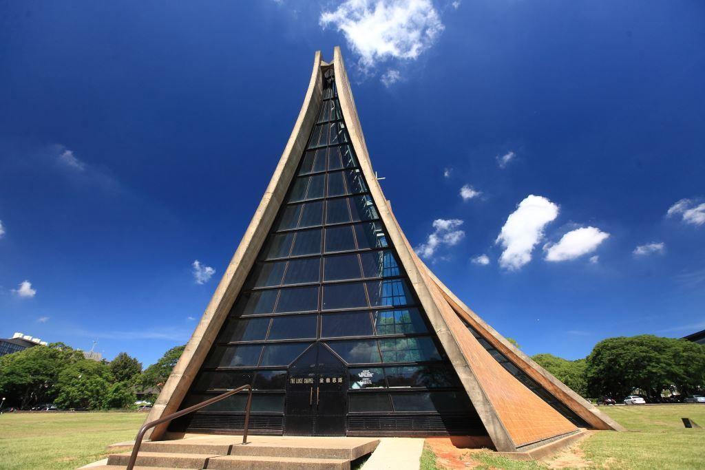 東海大學路思義教堂Luce Memorial Chapel。圖片來源:travel.taichung.gov.tw