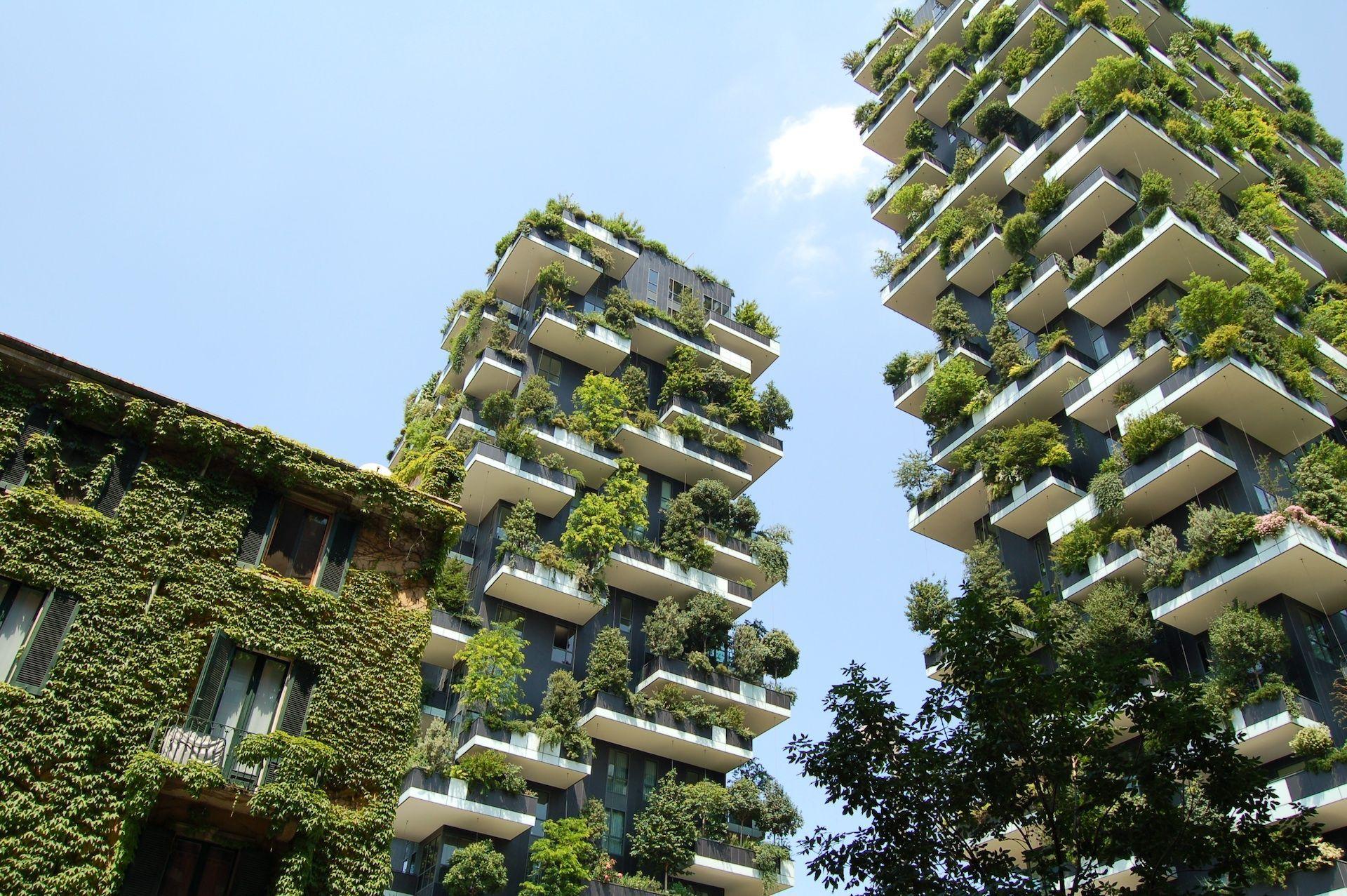 傳揚環保,建築名師Stefano Boeri在都市中創造一座垂直森林 Bosco Verticale