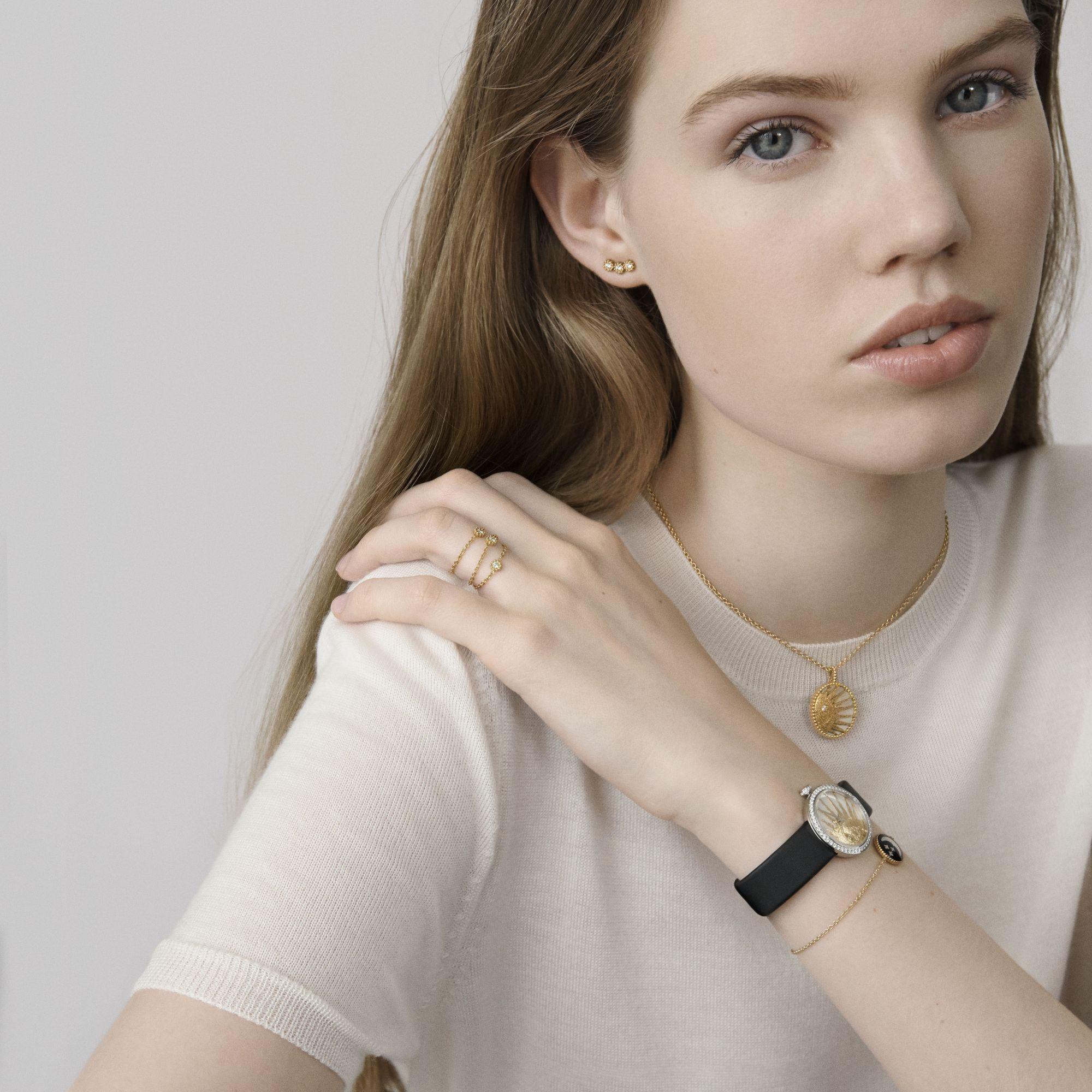Dior Mimirose超微型珠寶,幸運守護你身邊!