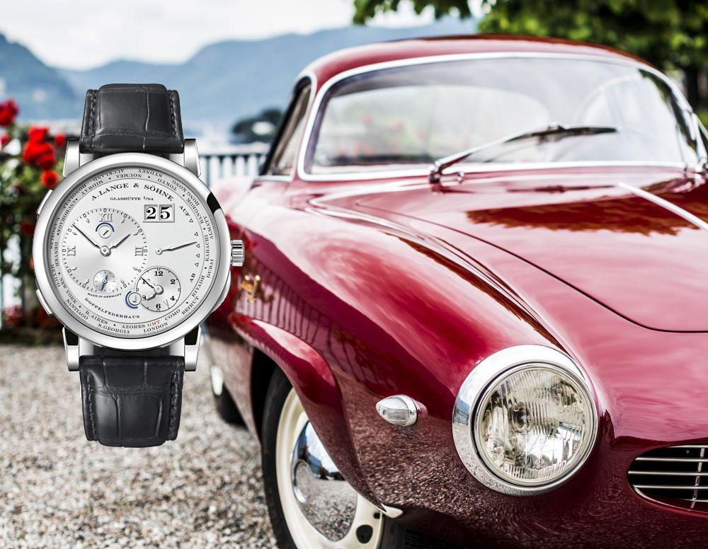 古董車與腕錶的精彩盛宴,朗格A. Lange & Söhne贊助古董車展傳承精密機械之美