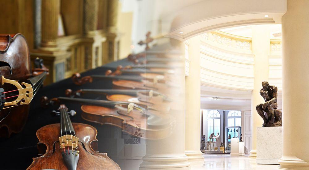 跨越450年相遇的輝煌琴音,奇美博物館呈獻絕無僅有的名琴饗宴!