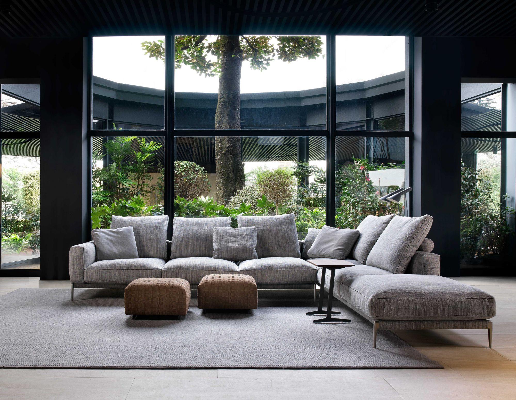 C for Comfort的體感美學,Flexform用超越時代的簡潔設計散發歷久不衰的魅力