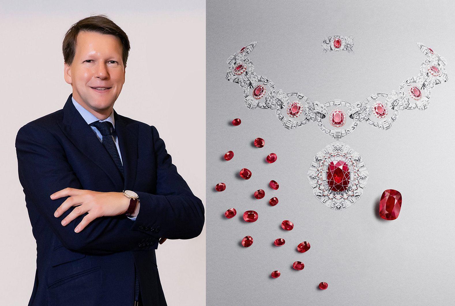 慧眼獨具的梵克雅寶亞太區總裁Nicolas Luchsinger,親身分享世家與紅寶石之間的不解之緣!
