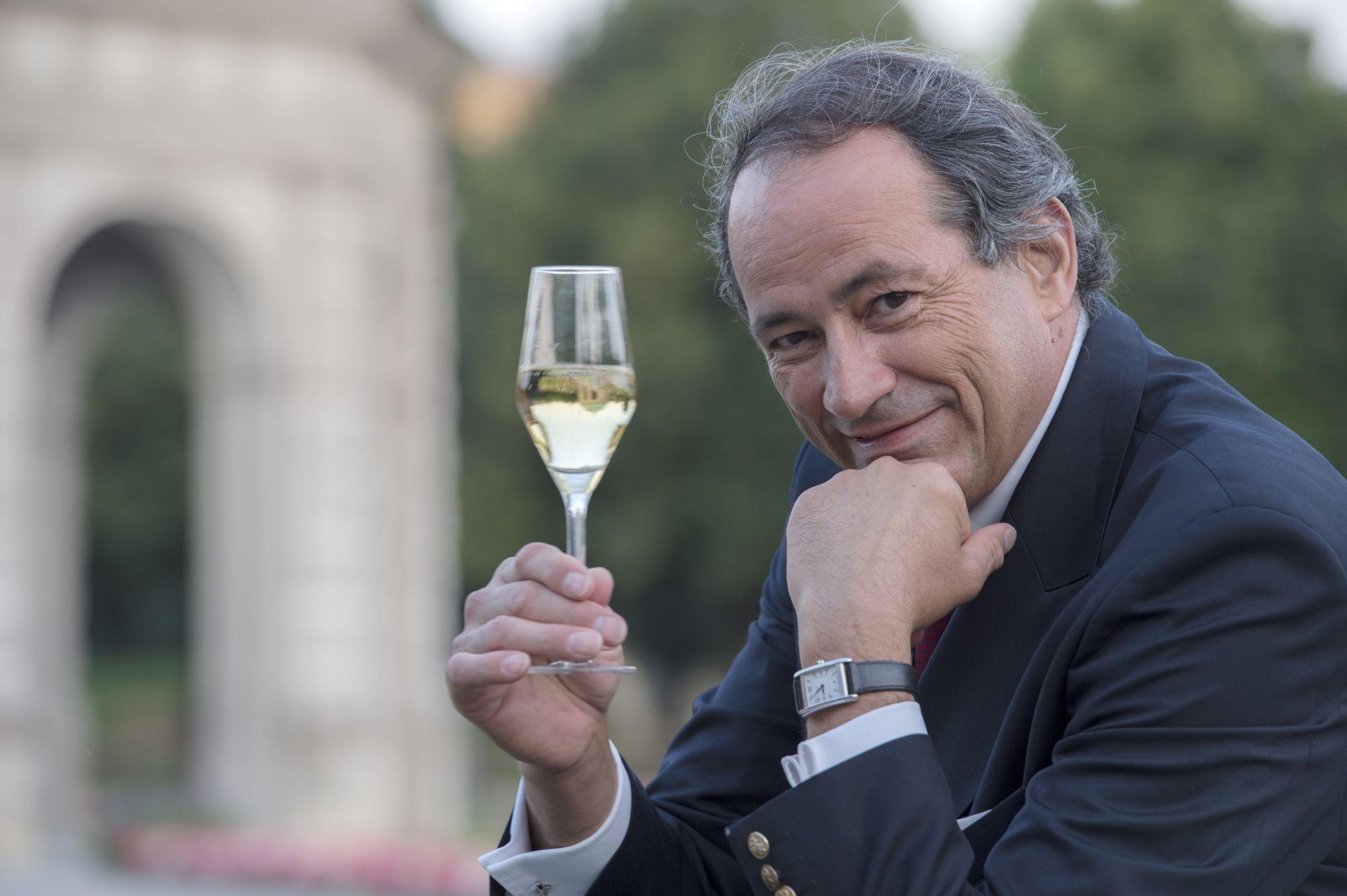Bruno Paillard。(圖/酒莊提供)