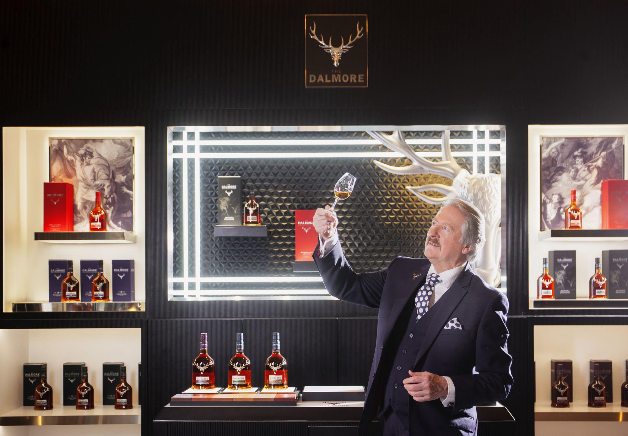 The Dalmore 大摩首席釀酒師 Richard Paterson:「我從不感到滿足,總是在尋覓更好的可能性。」