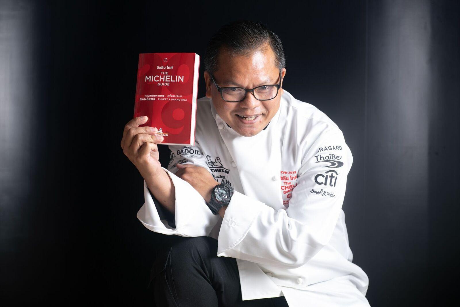 連續兩年獲頒《曼谷米其林指南》一星,Chim by Siam Wisdom主廚來台客座Sukhothai
