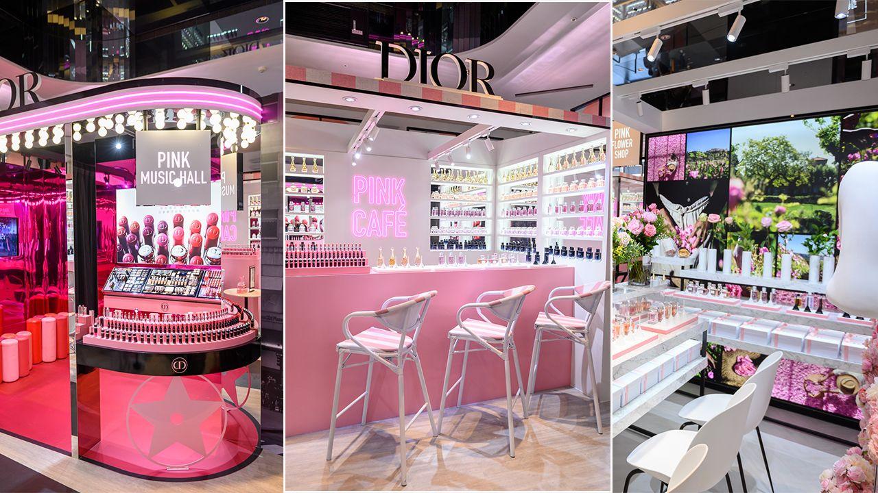 Dior 快閃粉紅狂潮 PINK CITY等你闖關!限量千鳥格紋藍星唇膏、珊瑚玫瑰色腮紅全台獨賣!