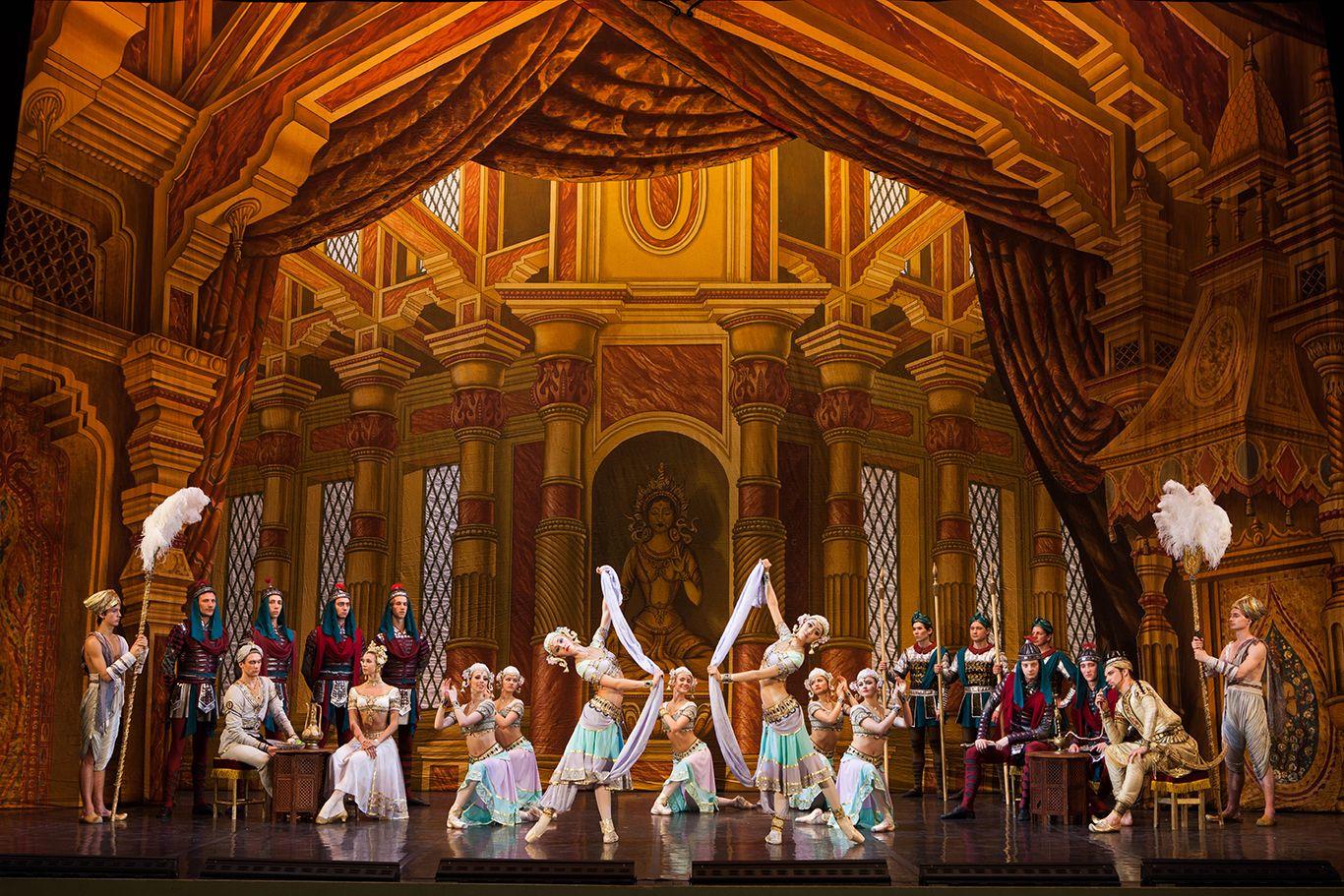 聖彼得堡芭蕾舞團首次來台演出全本經典舞劇《舞姬》