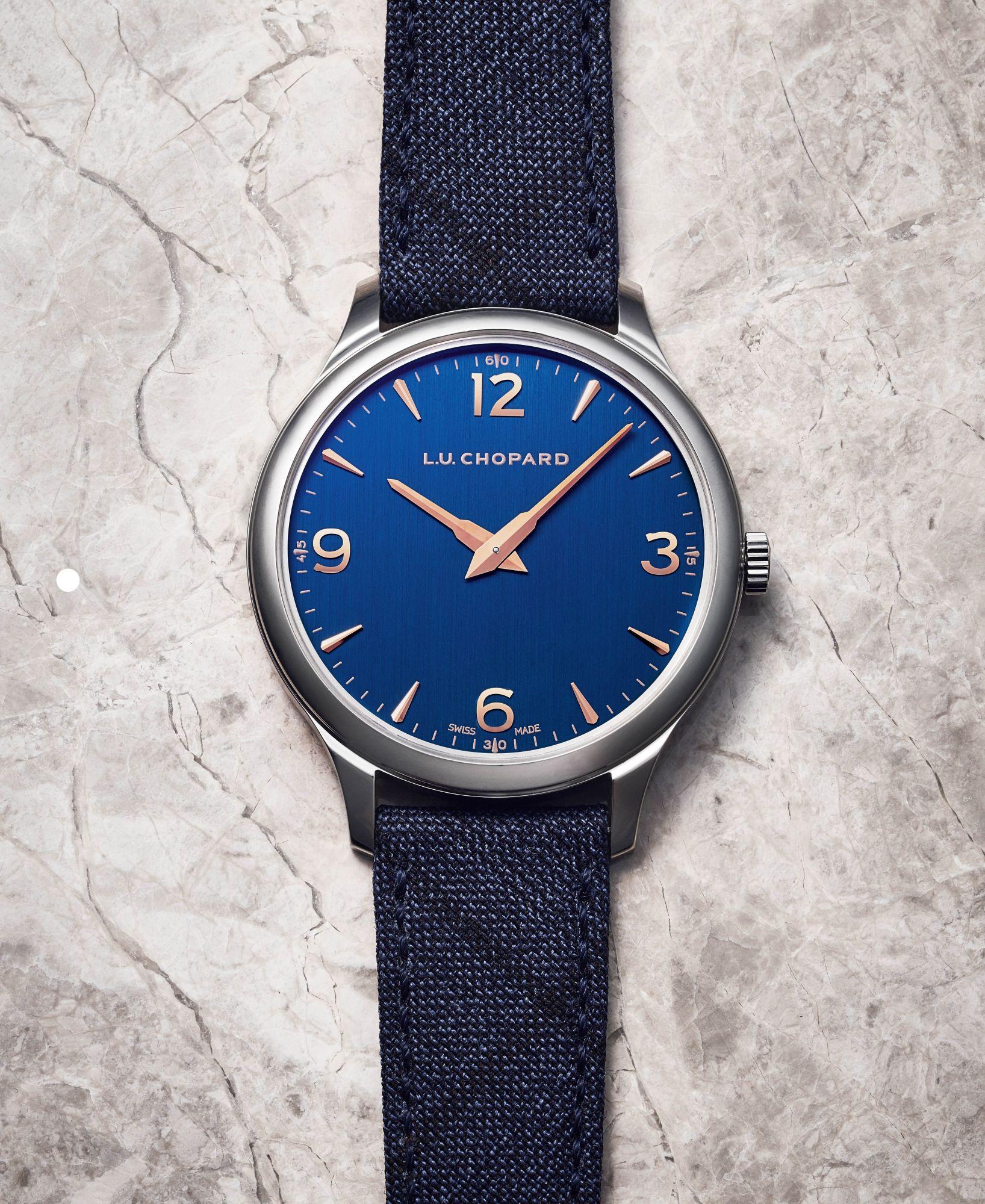 延續頂級西服訂製精神,蕭邦L.U.C XP腕錶一展優雅灑脫的紳士風範