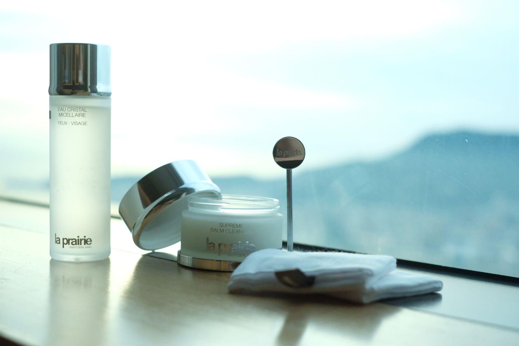 從洗卸開始講究保養細節!La Prairie卸妝霜帶給妳無與倫比的清潔體驗