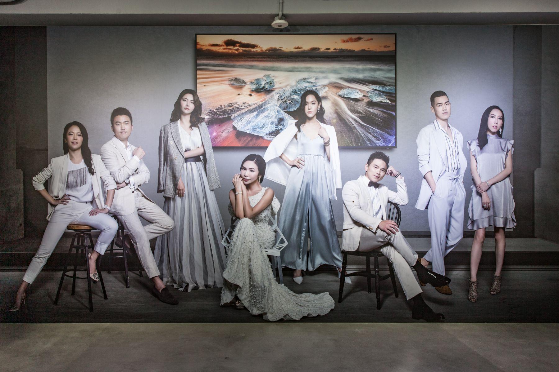 世上顏質最高的電視!三星攜手各界名人舉辦QLED 8K影像藝術展,完美演繹專業新視界