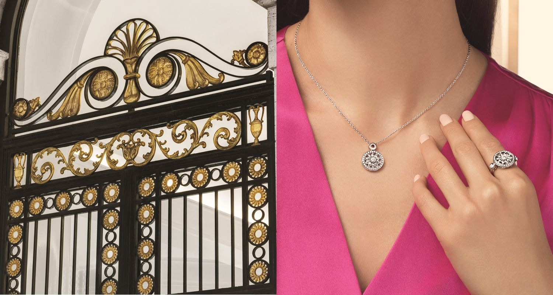 鑽石之王Harry Winston用環型花飾妝點妳的璀璨日常,全新Winston Gates系列珠寶守護幸福扉頁