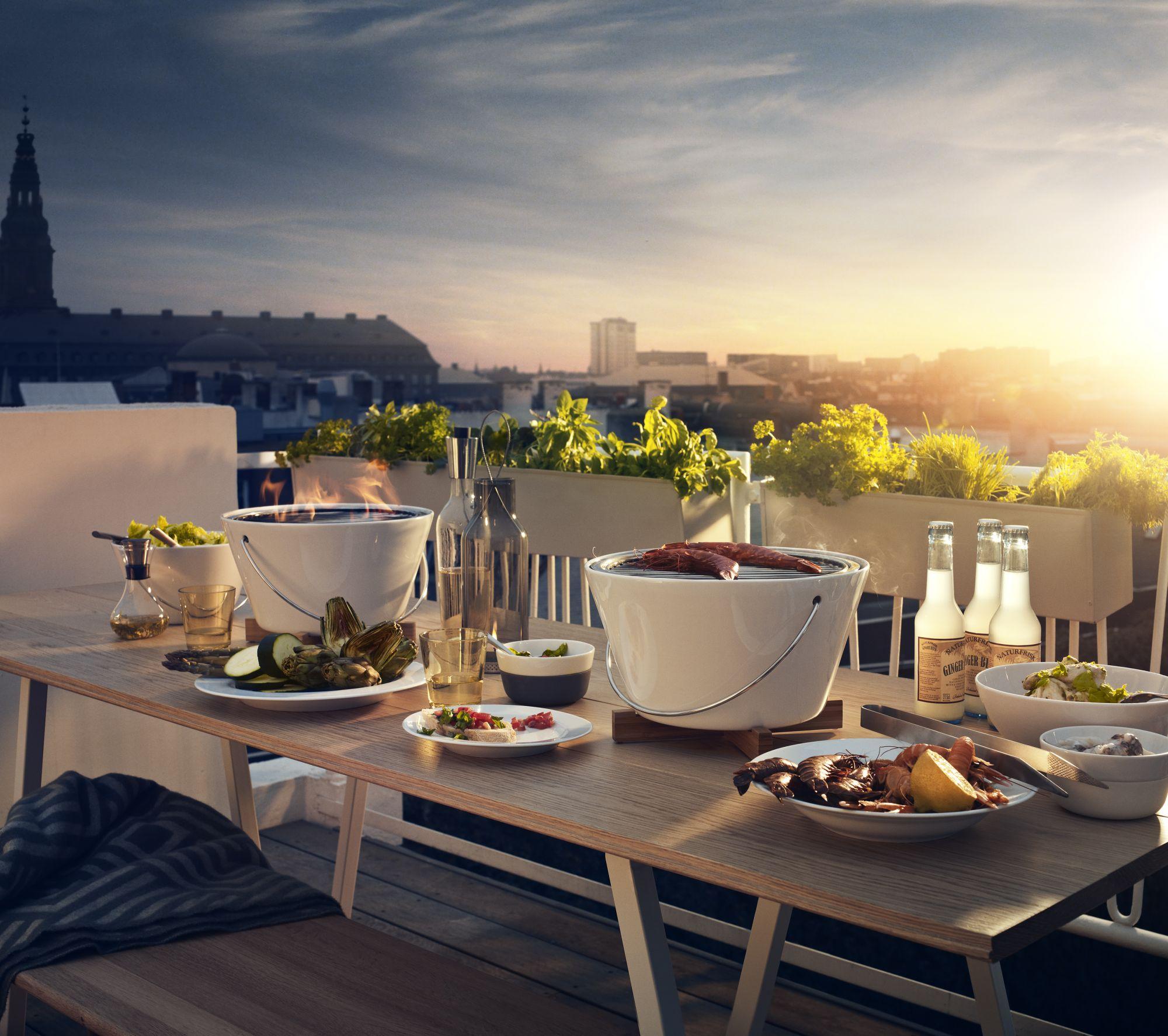 「烤肉爐界網紅」線條時尚具美感!丹麥、美國大使館都在用