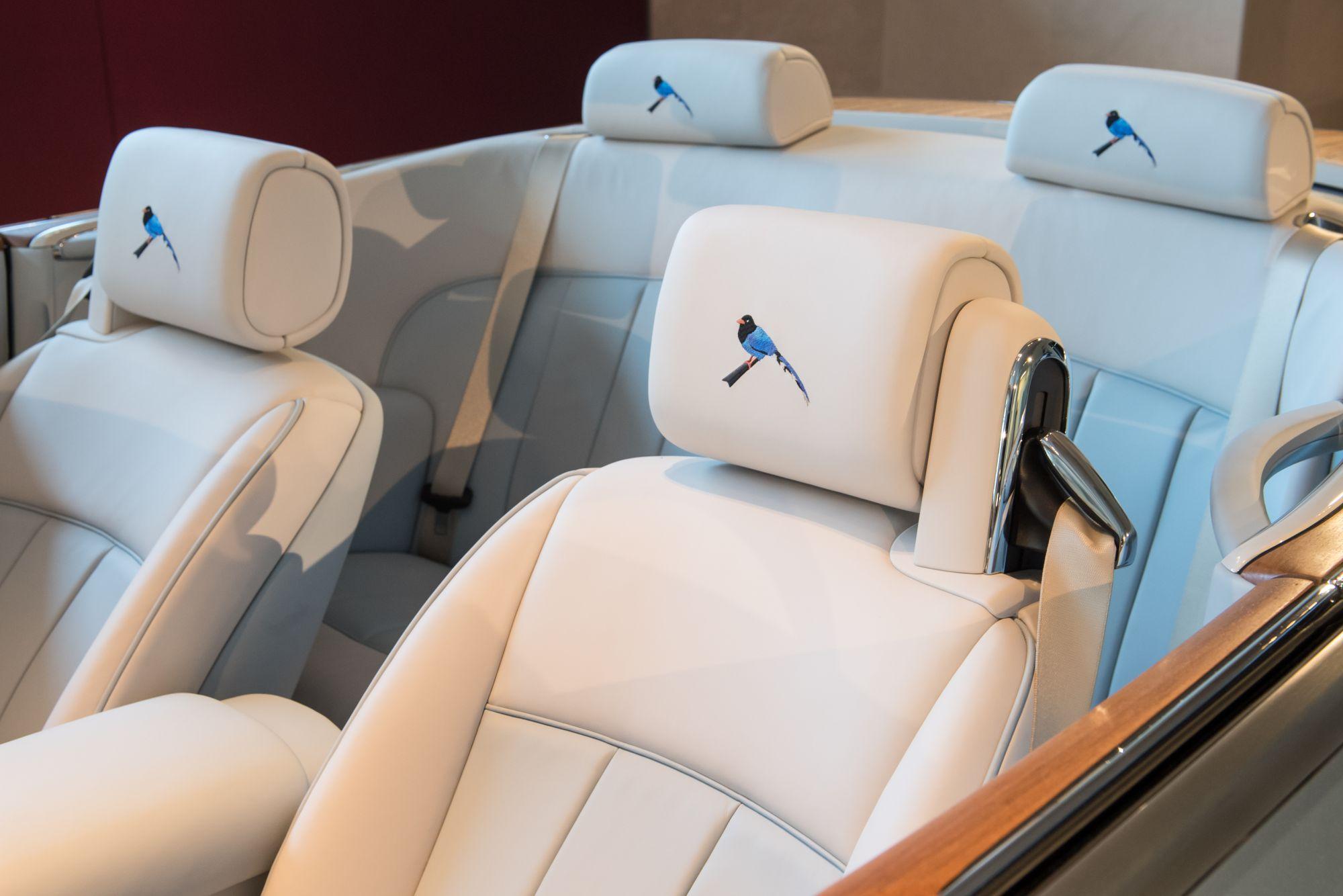 以藍鵲之名打造全球唯一!Rolls-Royce為台灣車主訂製保育款 Phantom Drophead Coupe