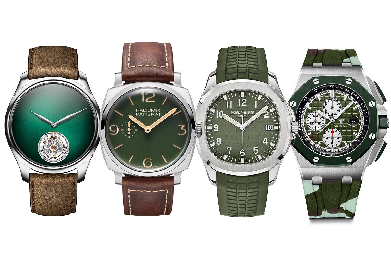 今年鐘錶界的綠色風潮你一定要跟上!編輯精選十款綠色系腕錶,讓你盡情感受時間「綠」動