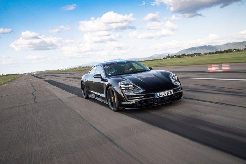 保時捷首部純電動Taycan跑車即將降臨!7分42秒征服Nürburgring賽道