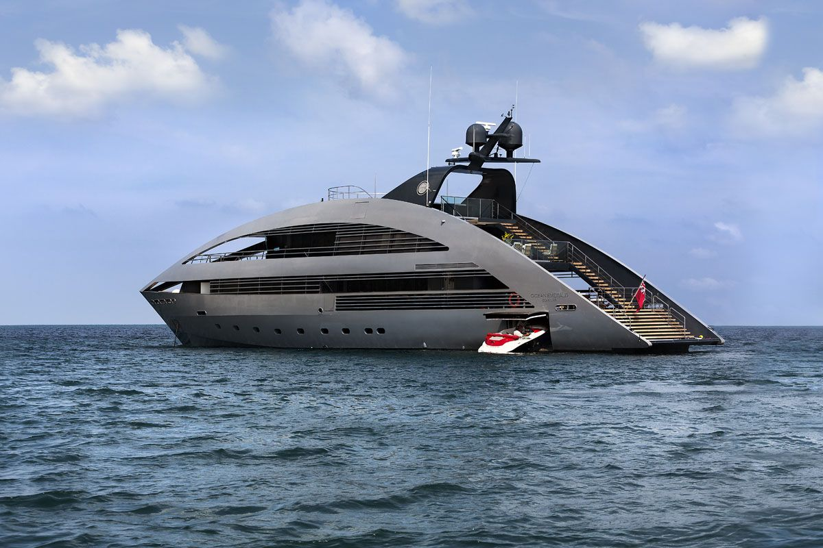 行走海上的賀爾蒙!建築大師打造41公尺超豪華Ocean Emerald Yacht遊艇